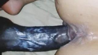 Gros cul maghrébine se fait prendre par un black